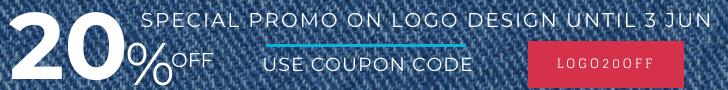 Discount Banner Logo Design