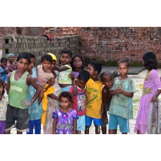 Orphan children in India