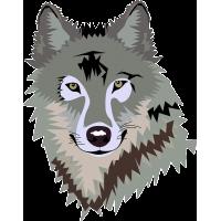 Wolf head Vector
