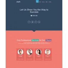 Web Theme/Template #120