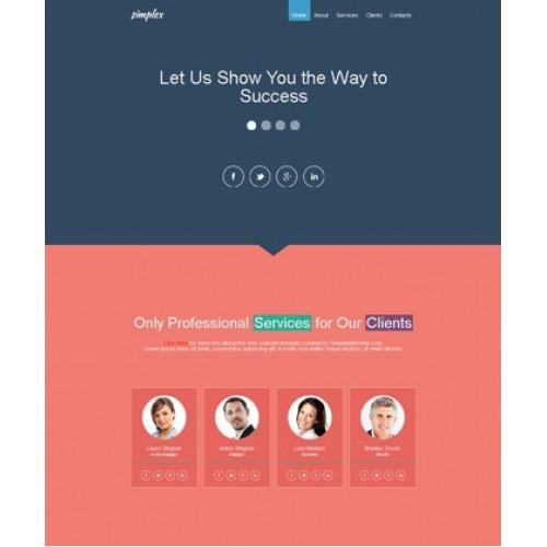 Web Theme/Template #120