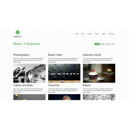 Web Theme/Template #130