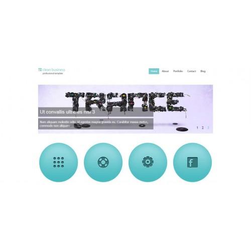 Web Theme/Template #131
