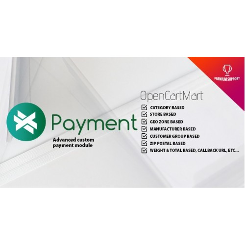 Opencart ext payment module
