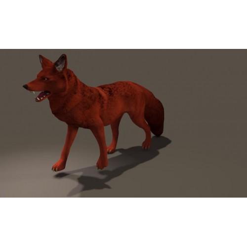 3D Model of Fox