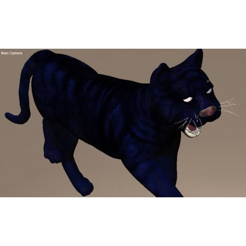 3D Model of Black Panther