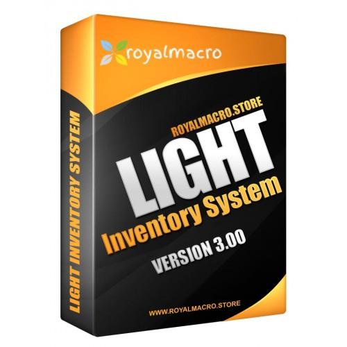 Light Inventory System ver. 3