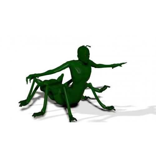3D Model of Scorpion Man